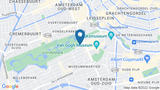 Hotel City Garden Amsterdam Map