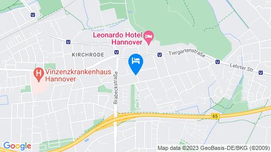 Private Apartment Kronsberger Straße Map