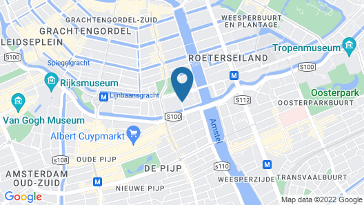 PH Hotel Oosteinde Map