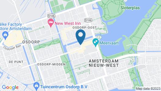 Citiez Hotel Amsterdam Map