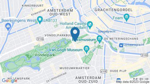 Hotel Piet Hein Map