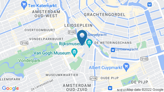 Short Stay Group Rijksmuseum View Serviced Apartments Map