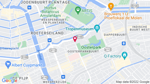 Hotel Arena Map