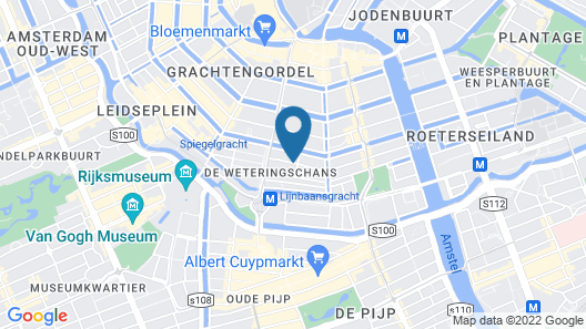 Mercure Hotel Amsterdam Centre Canal District Map