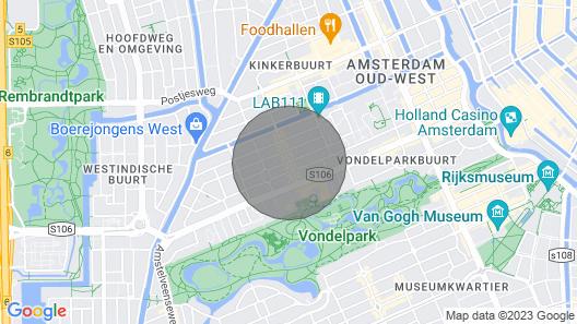 Spacious Apartment Close to Museums Map