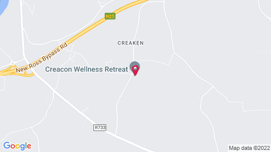Creacon Wellness Retreat Map