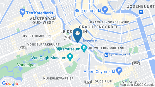 Park Centraal Amsterdam Map
