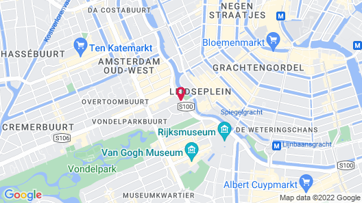 NH Amsterdam Centre Map
