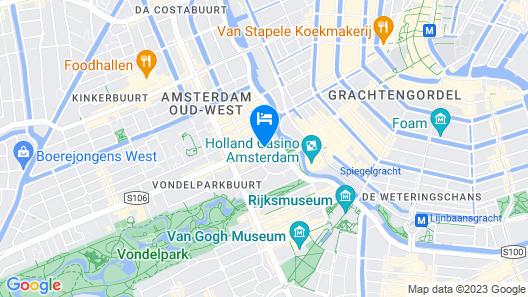Hotel van de Vijsel Map