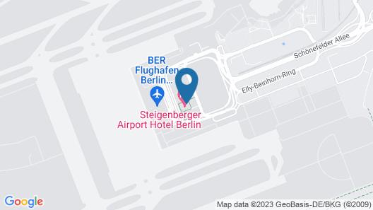 Steigenberger Airport Hotel Berlin Map