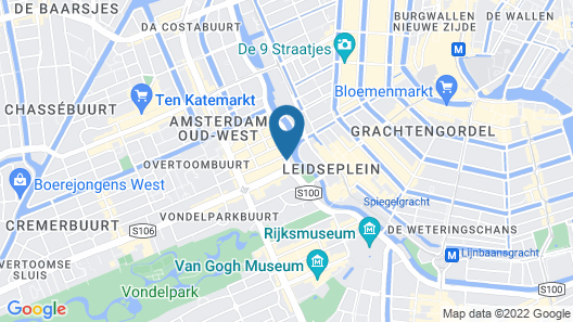 The ED Amsterdam Map