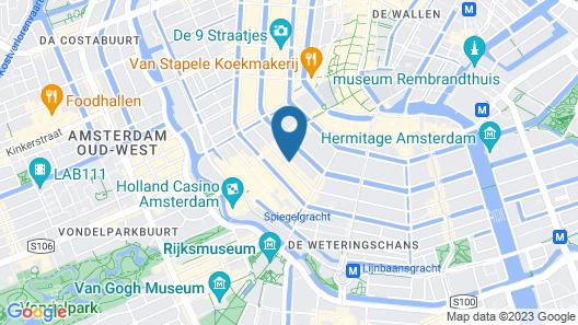 Kerkstraat Residence Map