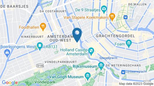 Sara's Boutique Hotel Map