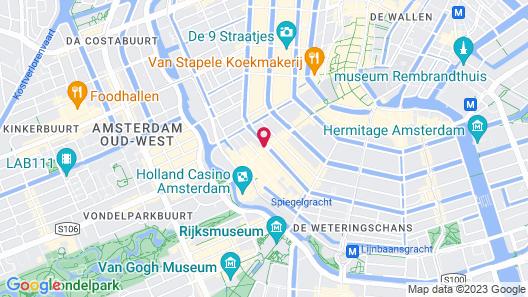Dikker & Thijs Hotel Map