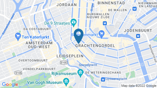 Amsterdam Downtown Hotel Map