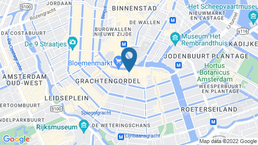 NH Collection Amsterdam Flower Market  Map