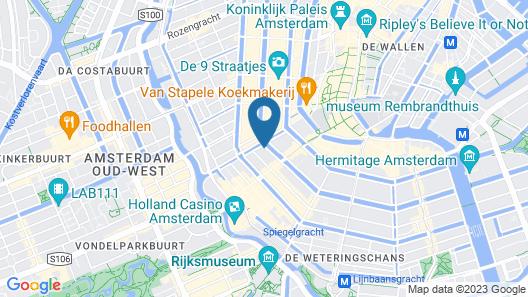 Keizershouse Amsterdam Map