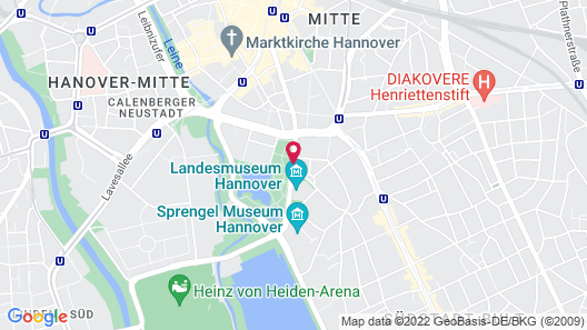 Mercure Hotel Hannover City Map