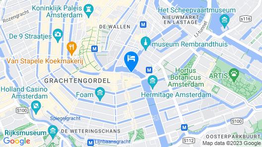 Eden Hotel Amsterdam Map