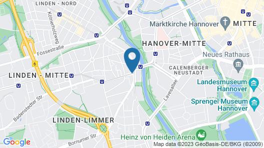 Hotel Schwarzer Bär Map