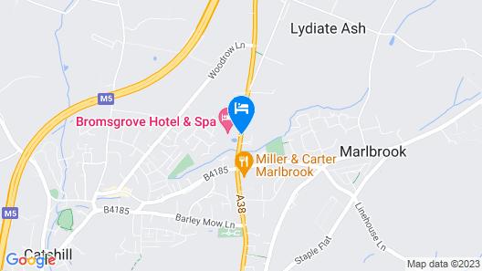 Bromsgrove Hotel & Spa Map