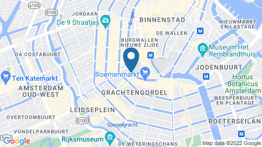 Mr. Monkey Amsterdam Map