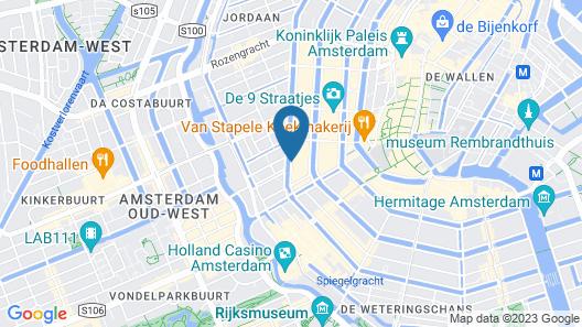 Andaz Amsterdam Prinsengracht - a concept by Hyatt Map