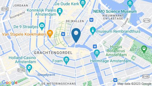 Hotel Nes Map