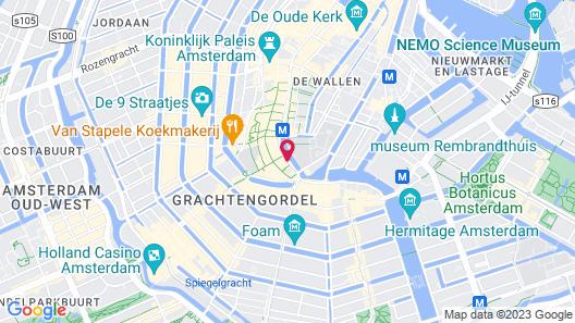 Hotel des Arts Map