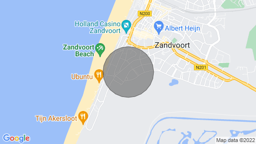 Amsterdam Beach Studio I Map