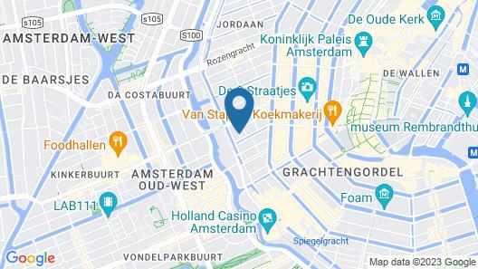 Hotel De Looier Map