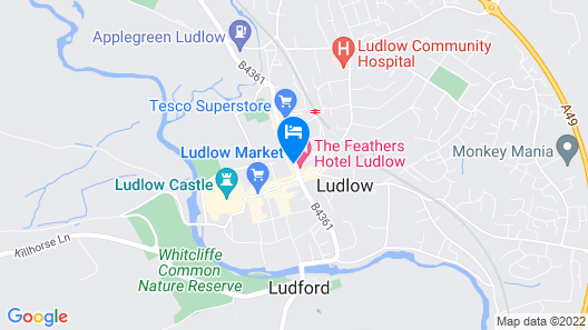 The Bull Hotel Map