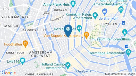 Amsterdam Wiechmann Hotel Map