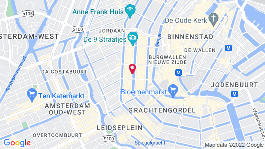 The Dylan Amsterdam Map