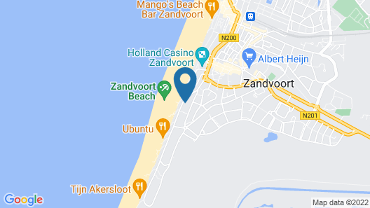 Chalet at the Beach With Free Parking Map