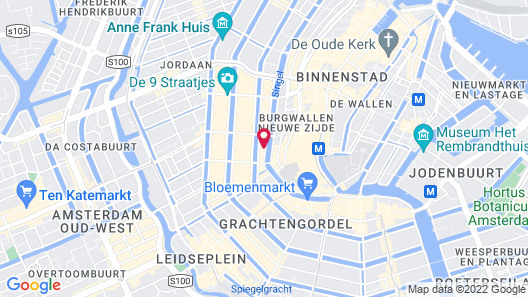 Suites aan de Singel Map