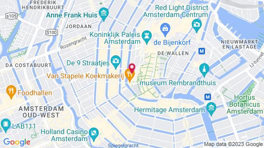 NH City Centre Amsterdam Map