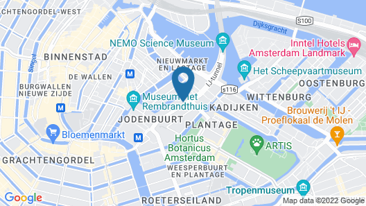 Motel One Amsterdam-Waterlooplein Map