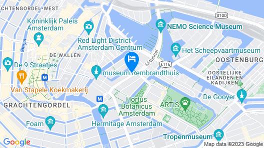 Motel One Amsterdam-Waterlooplein Map