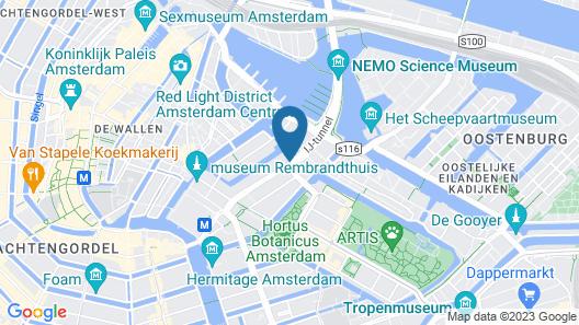 Holiday Inn Express Amsterdam - City Hall, an IHG Hotel Map
