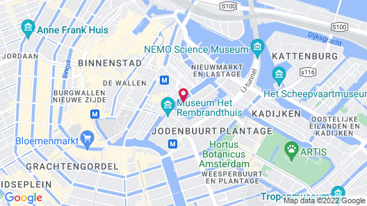 Luxury Suites Amsterdam Map