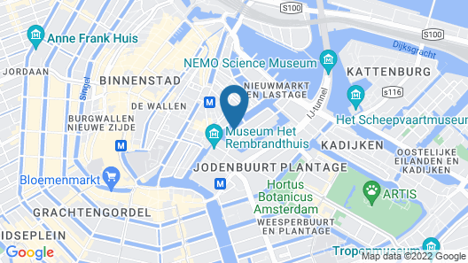 Luxury Suites Amsterdam Map