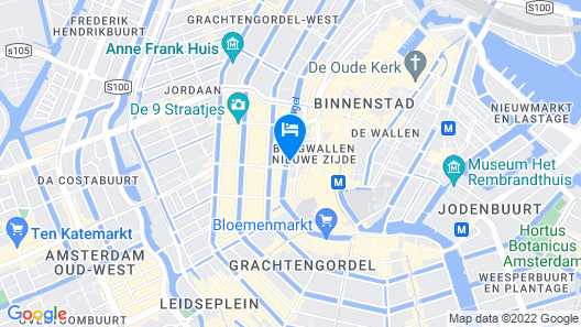 Hotel Estheréa Map