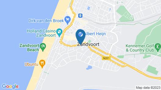 Appartementen Zeespiegel Map