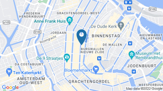 The Hoxton, Amsterdam Map