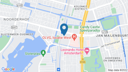 The Student Hotel Amsterdam West Map