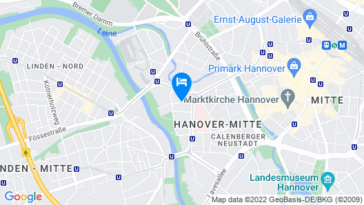 Apartment City Lenaustraße - contactless check in Map