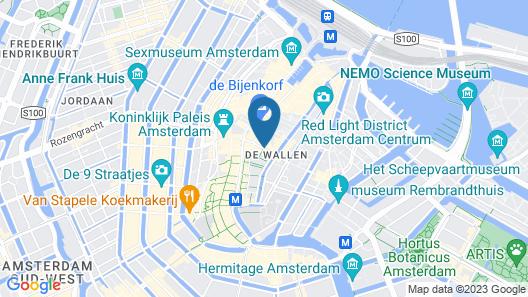 Hotel De Gerstekorrel Map
