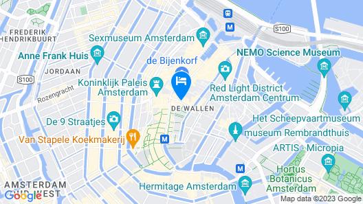 Hotel Doria Map