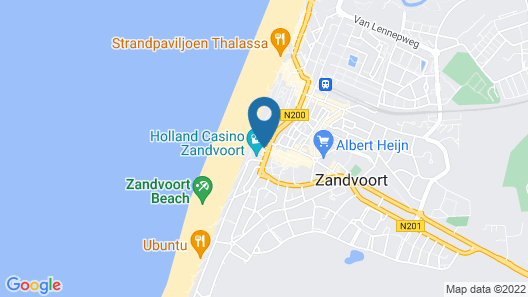 Amsterdam Beach Hotel Map